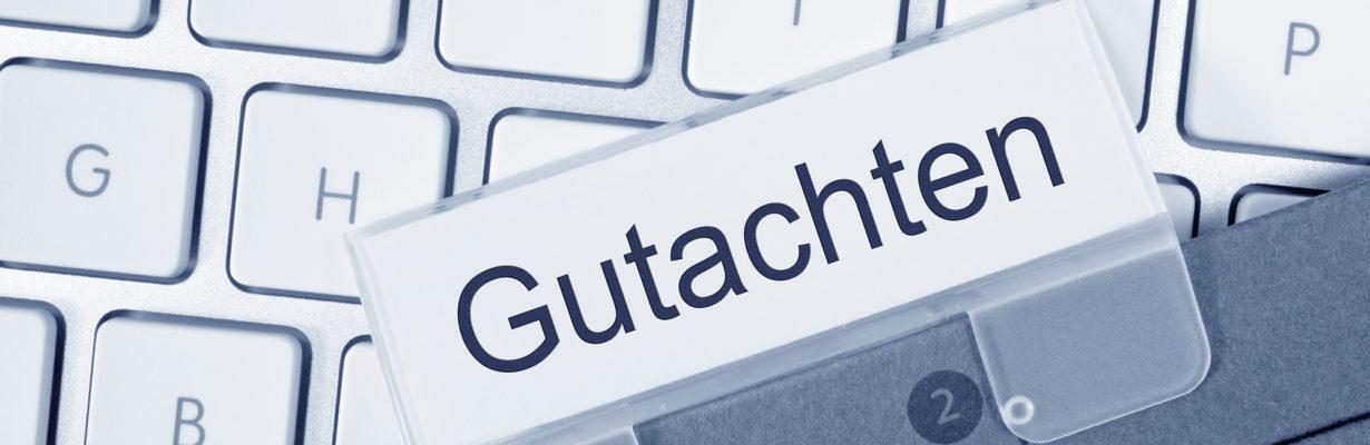 Gutachten – affaire à suivre